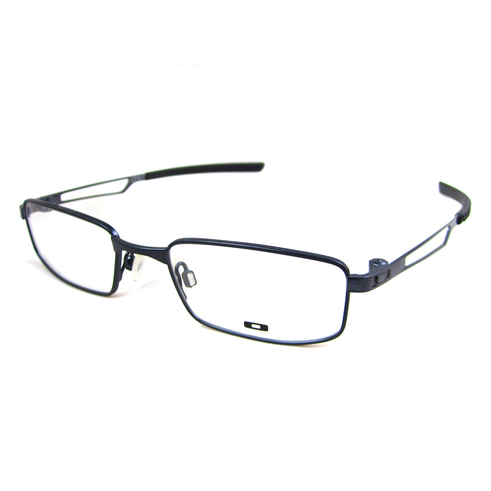 sentinel oakley rx glasses frames collar 310104 polished midnight