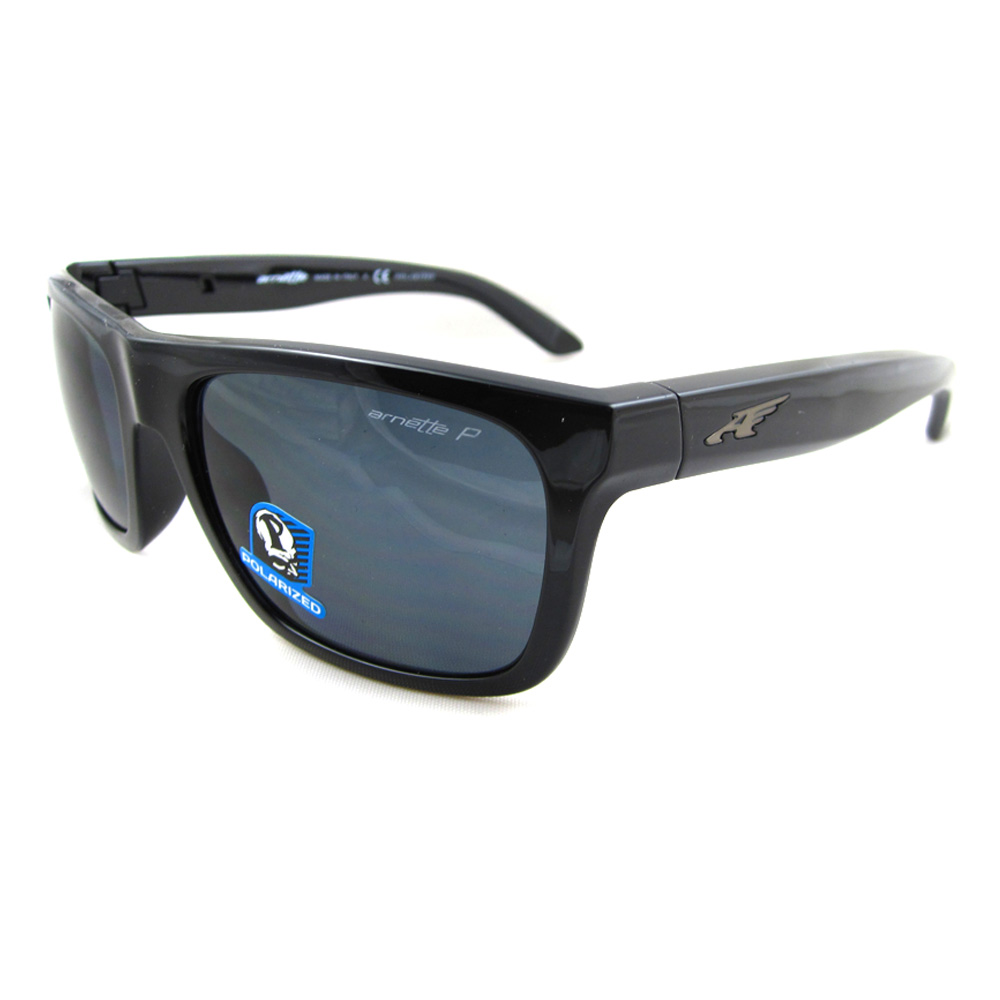Arnette Sunglasses Review  arnette sunglasses 4176 dropout 41 81 black polarized grey ebay