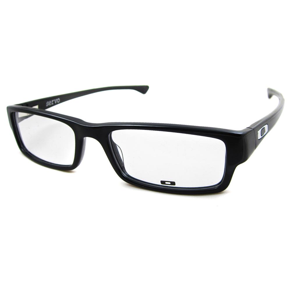 Oakley RX Glasses Frames Servo 1066-01 Polished Black eBay