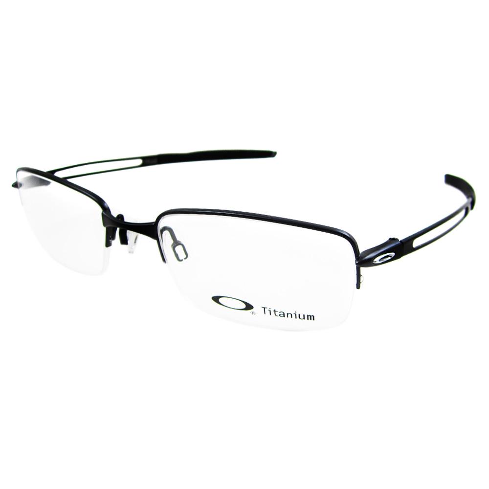 Big Frame Oakley Glasses : Oakley Glasses Frames Frag 5045-01 Polished Black eBay
