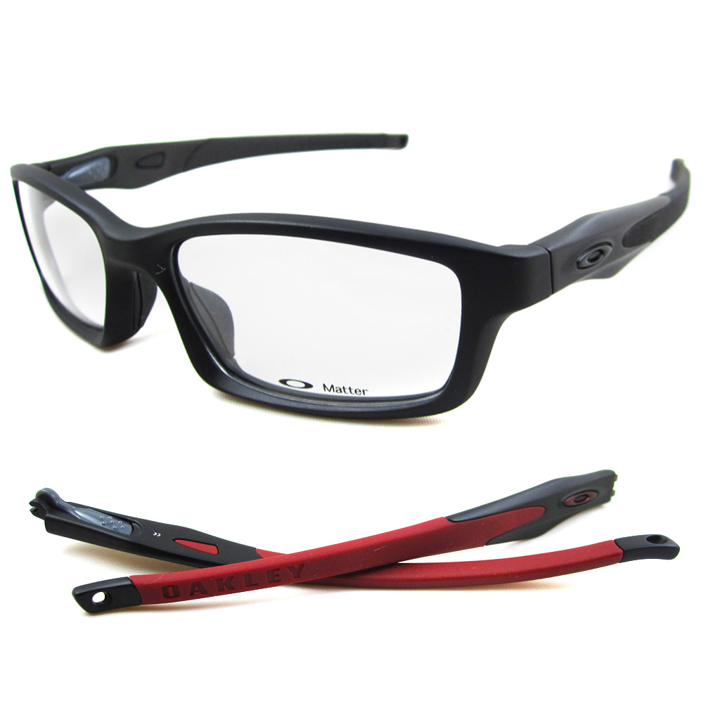 sentinel oakley rx glasses frames crosslink 8027 05 satin black
