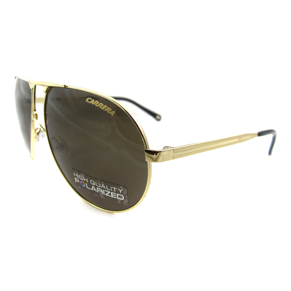 Carrera Sunglasses Carrera 1 Polarized Aviator in Gold ...