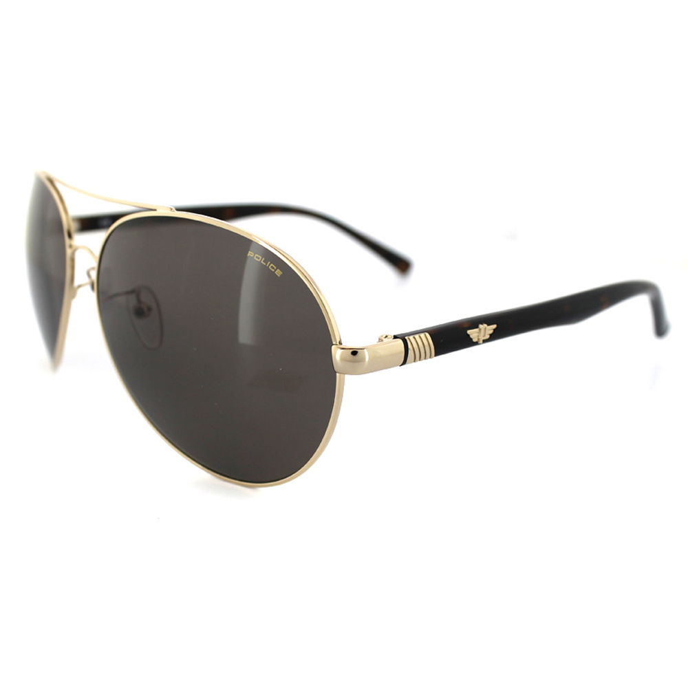 Gold Frame Police Sunglasses : Cheap Police 8591G Sunglasses - Discounted Sunglasses