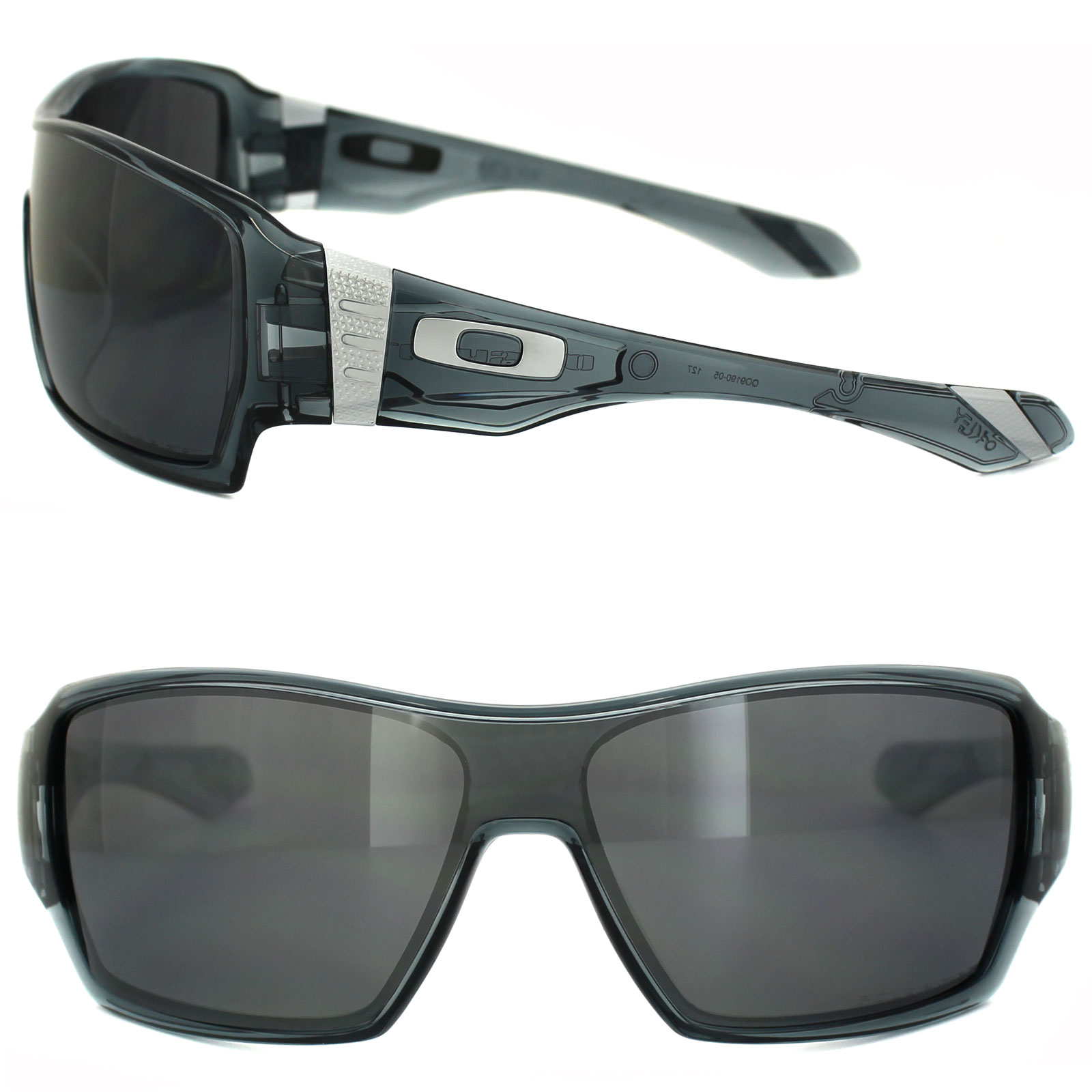 Oakley Offshoot Polarized Sunglasses  oakley sunglasses offshoot oo9190 05 crystal black black iridium