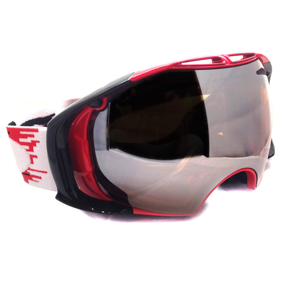 Itm Oakley Ski Snow Goggles Airbrake 59 123 Hyperdrive Red Black Iridium Persimmon  131329116159 Oakley Goggles Sunglasses