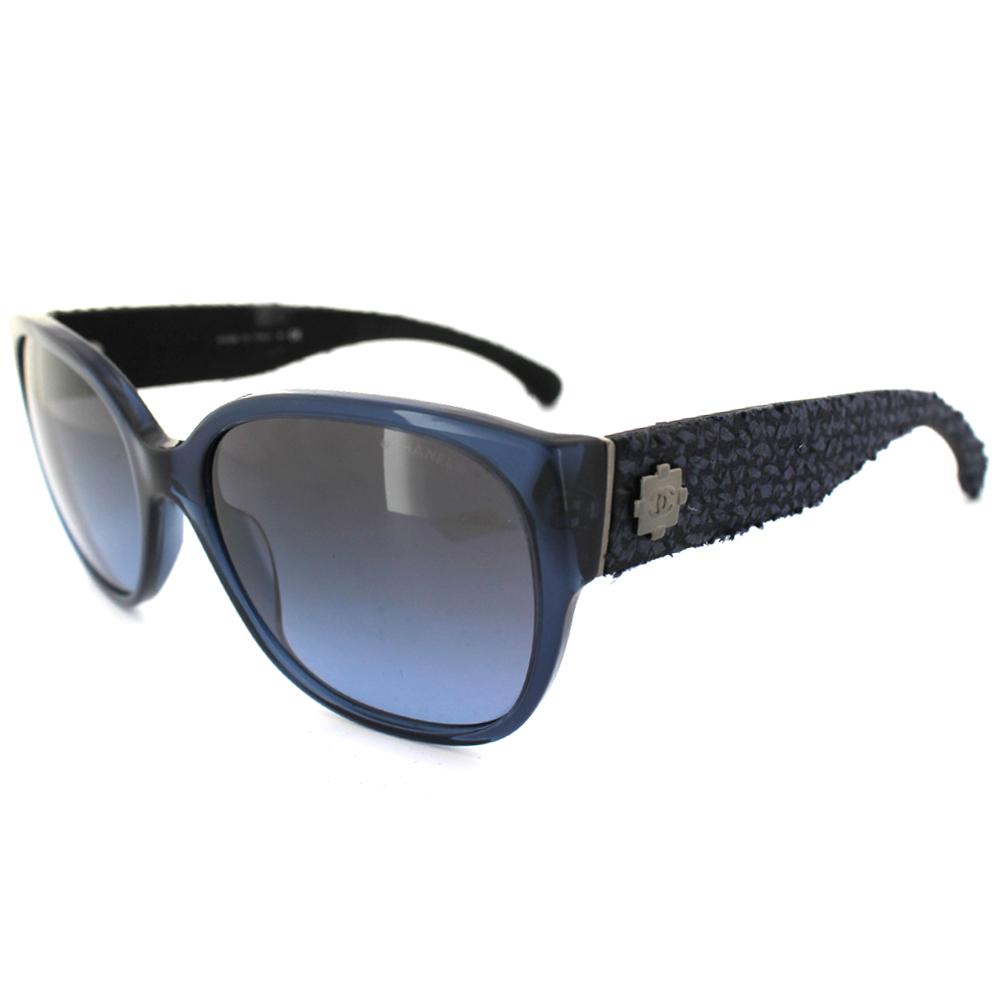 Chanel Womens Sunglasses 5237 13904C Blue Tweed Blue ...Chanel Sunglasses 2013 Women
