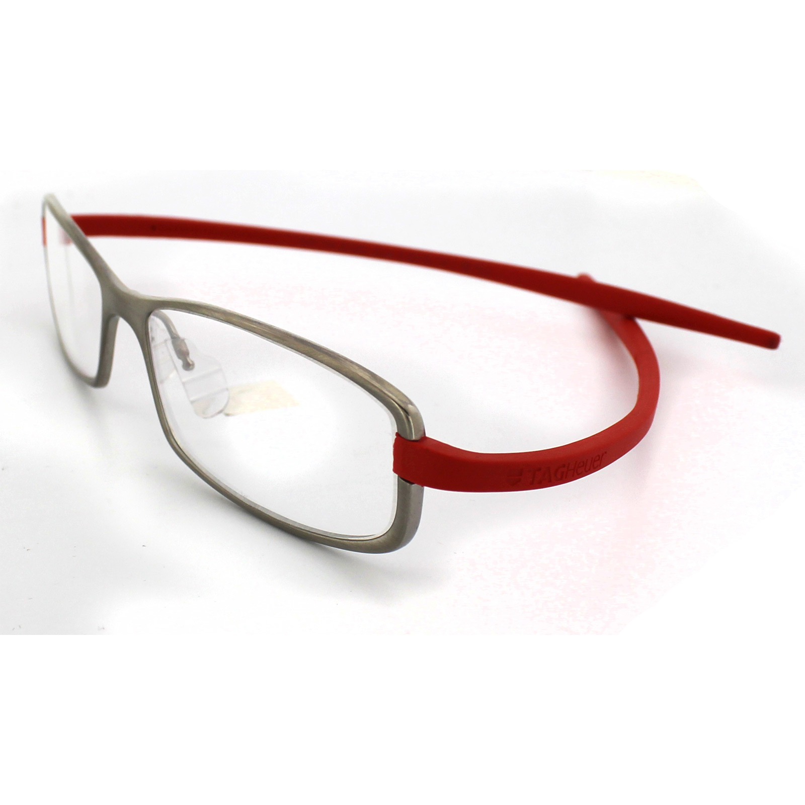 Eyeglass Frame Tags : Tag Heuer Glasses 3705 004 Ceramic Titanium Frames Red ...