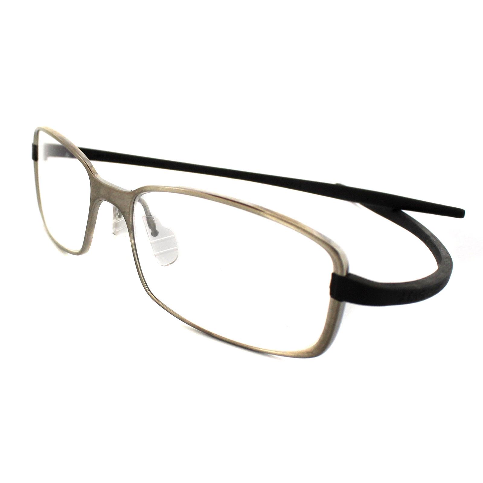 Tag heuer eyeglasses frames uk - Sentinel Tag Heuer Glasses 3706 017 Ceramic Titanium Silver Frames Grey Rubber Arms