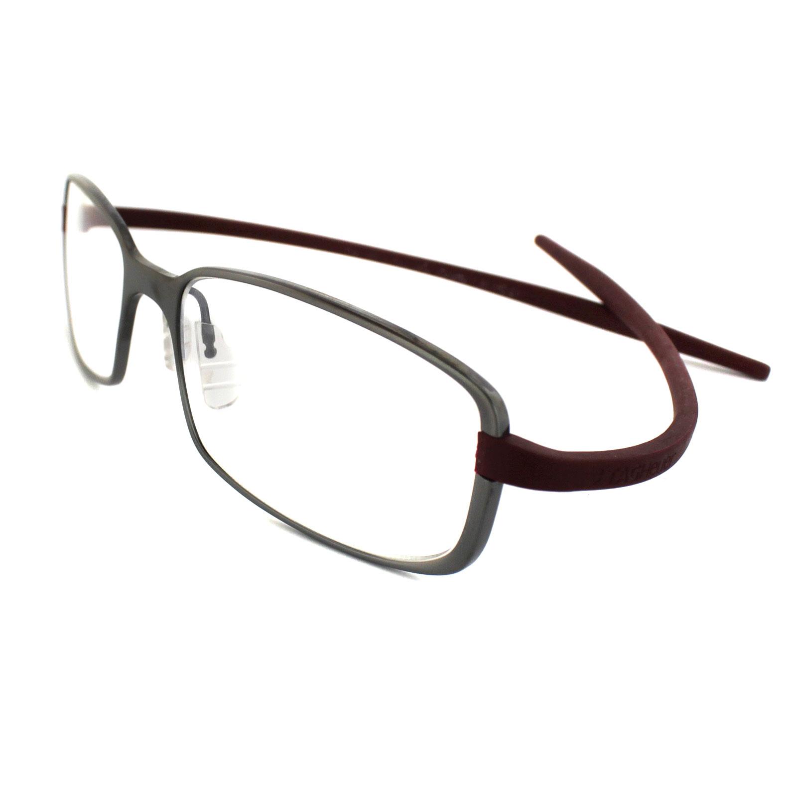 Tag heuer eyeglasses frames uk - Sentinel Tag Heuer Glasses 3706 018 Ceramic Titanium Silver Frames Bordeaux Rubber Arms
