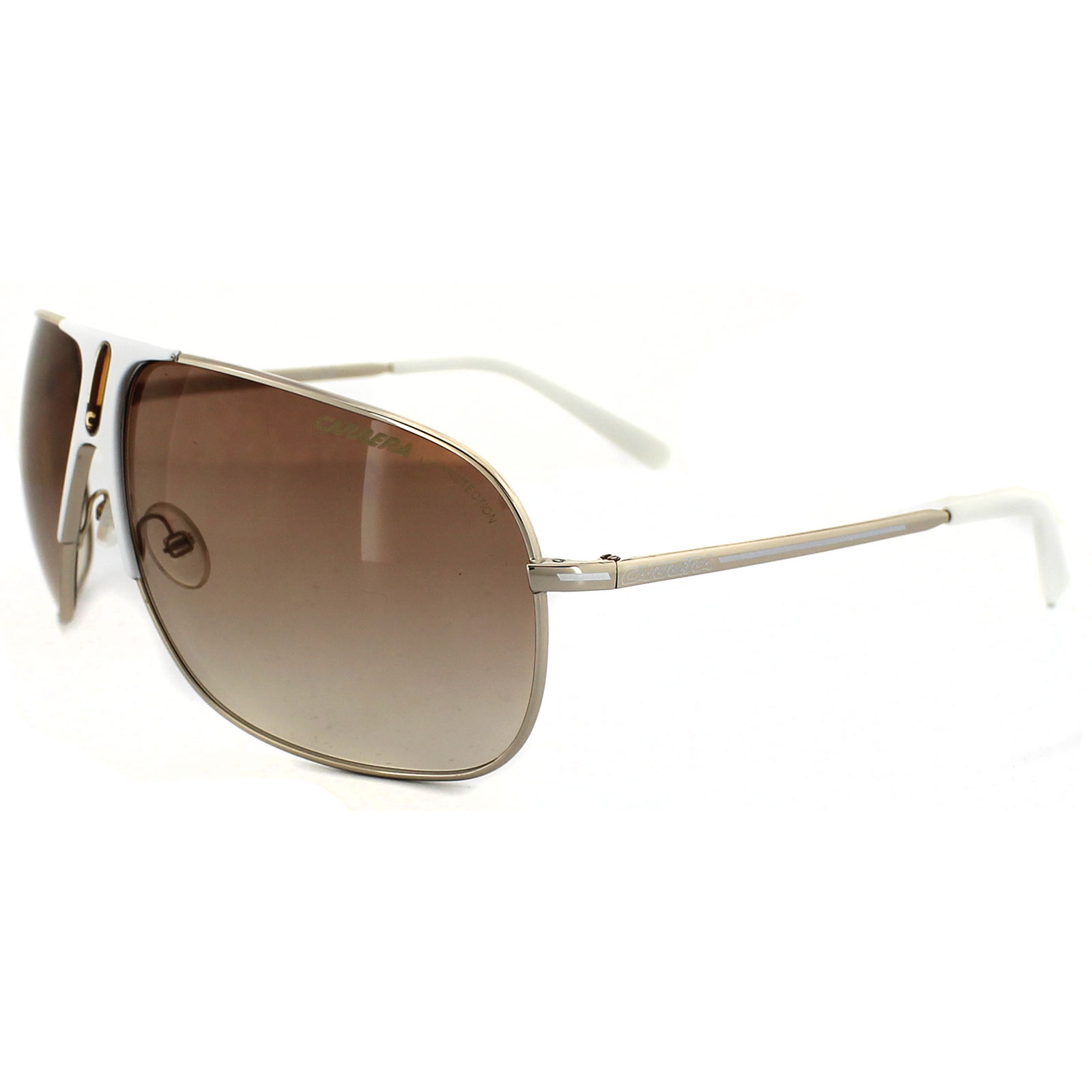 Carrera Sunglasses Brown  carrera sunglasses back 80 039 s 5 vfq id gold white brown