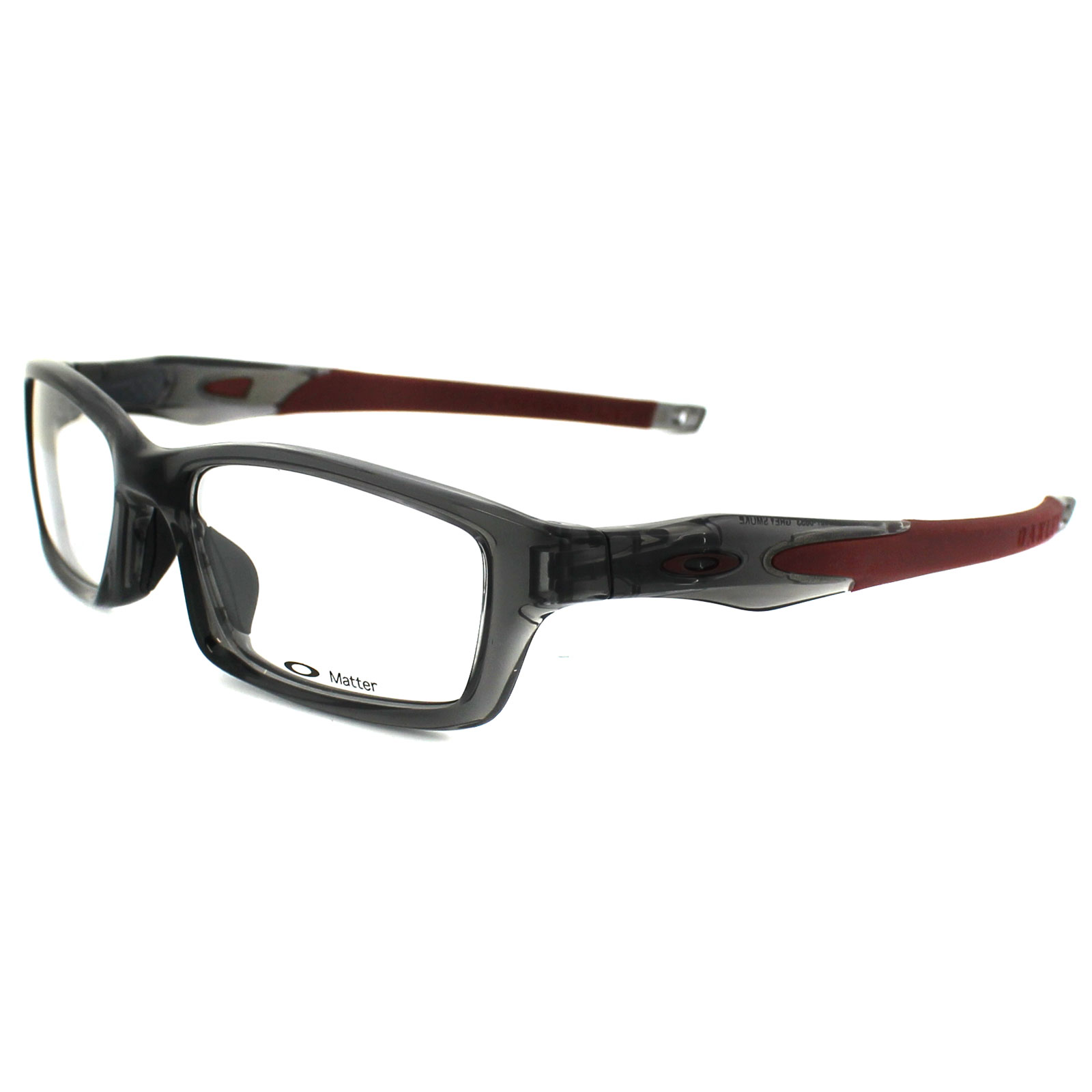 oakley glasses frames crosslink 8027 06 grey smoke