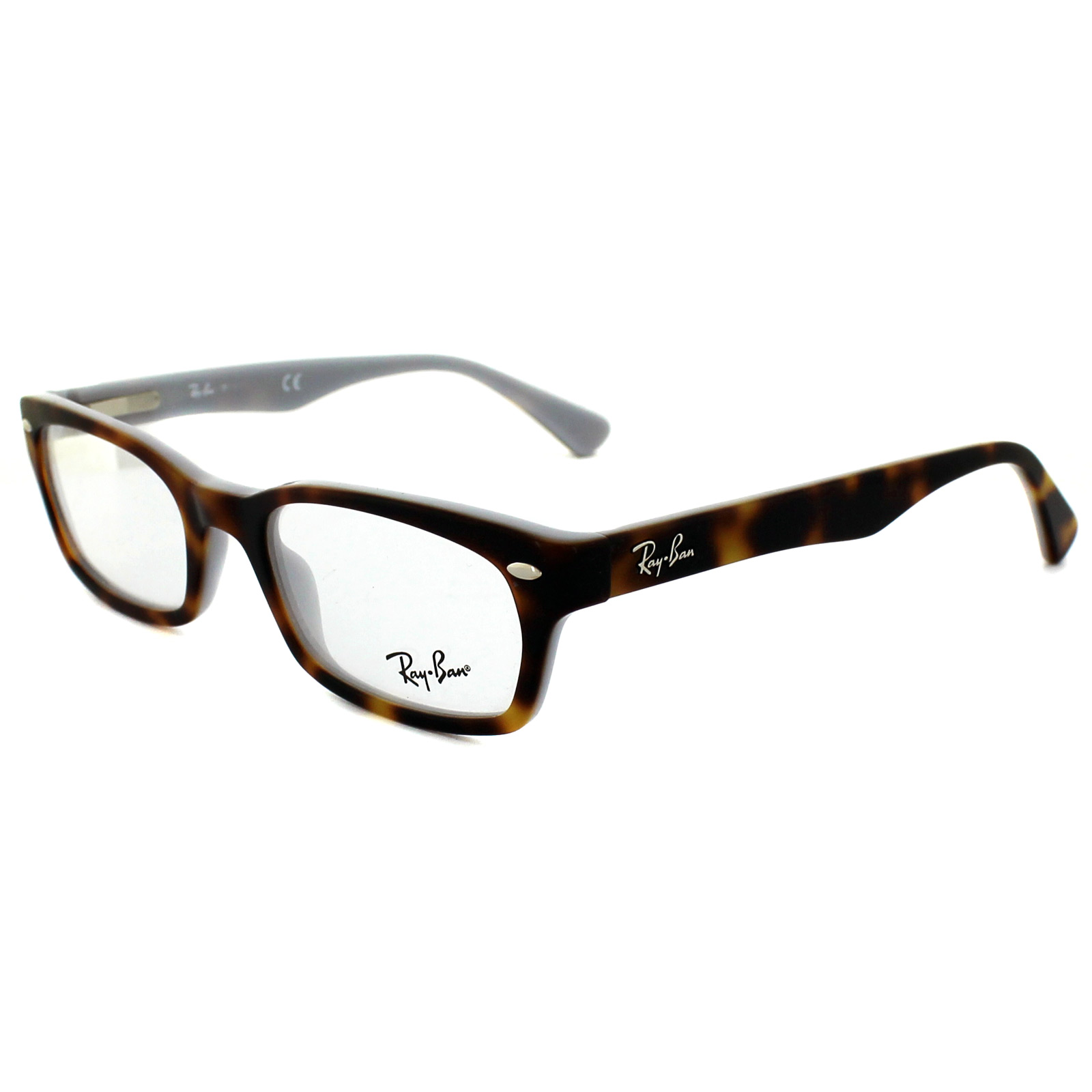 sentinel ray ban glasses frames 5150 5238 top havana on opal blue