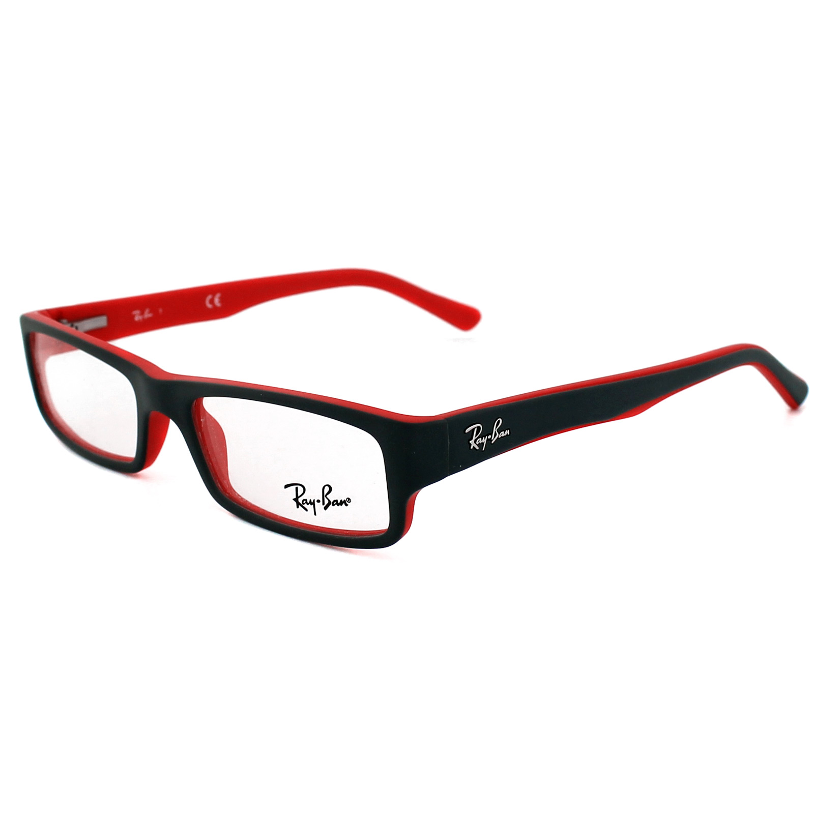 Ray Ban Small Frame Glasses : Ray-Ban Glasses Frames 5246 5225 Top Grey on Matt Red eBay