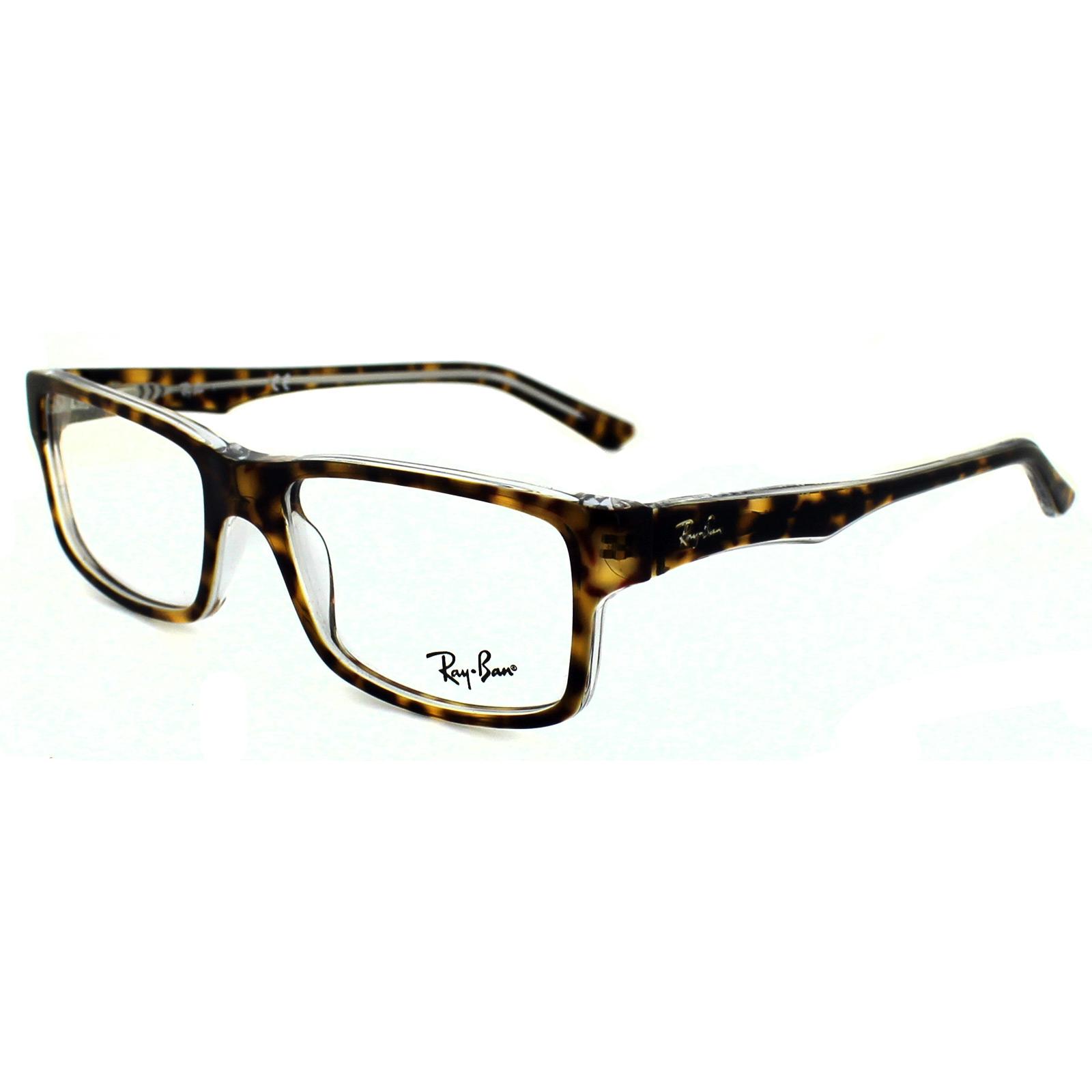 ray ban brillengestell 5245 5082 top havana on transparent. Black Bedroom Furniture Sets. Home Design Ideas