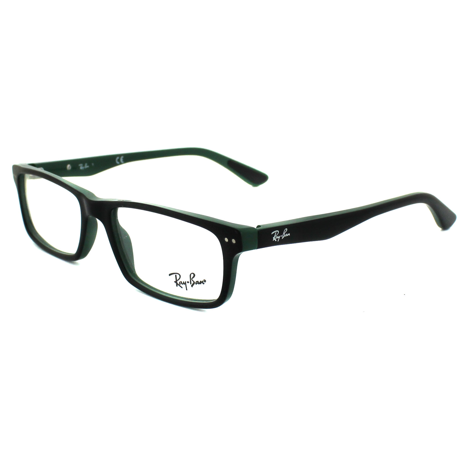 Green Frame Ray Ban Glasses : Ray-Ban Glasses Frames 5277 5138 Top Black On Green eBay