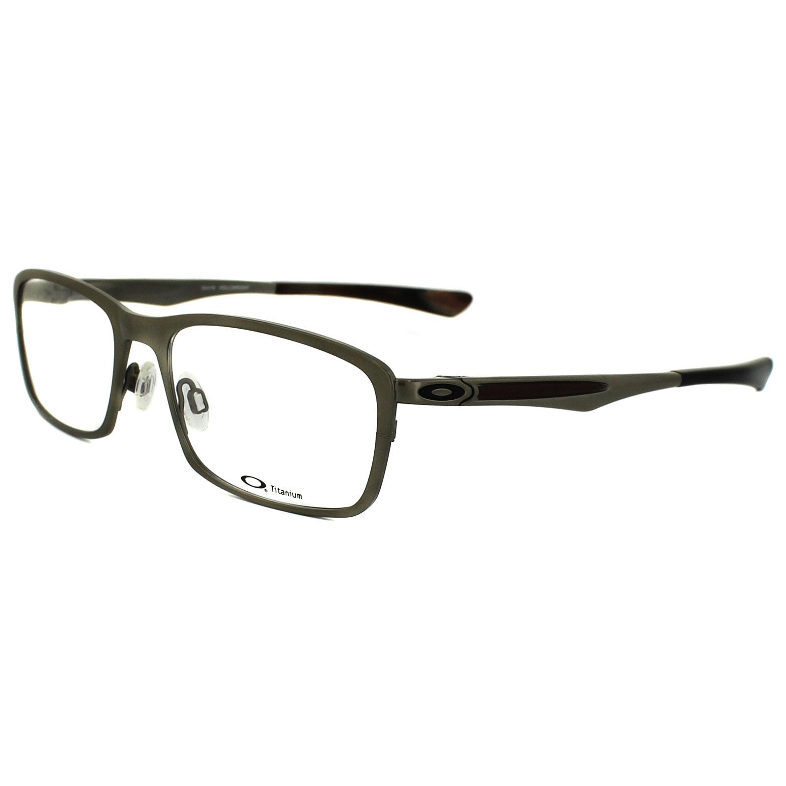 oakley glasses frames hollowpoint 5075 02 silver ebay