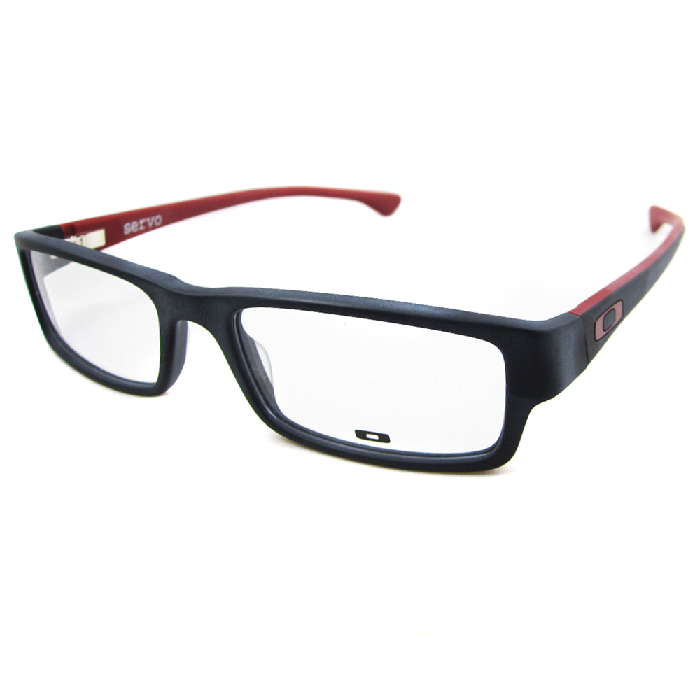 Adjusting Eyeglass Frame Temples : Oakley Brillengestell Servo 1066-04 Black Brick eBay