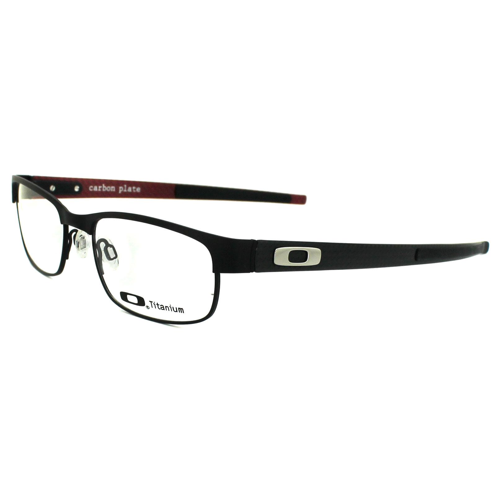 Oakley Glasses Frames Carbon Plate 5079 01 Matt Black Ebay