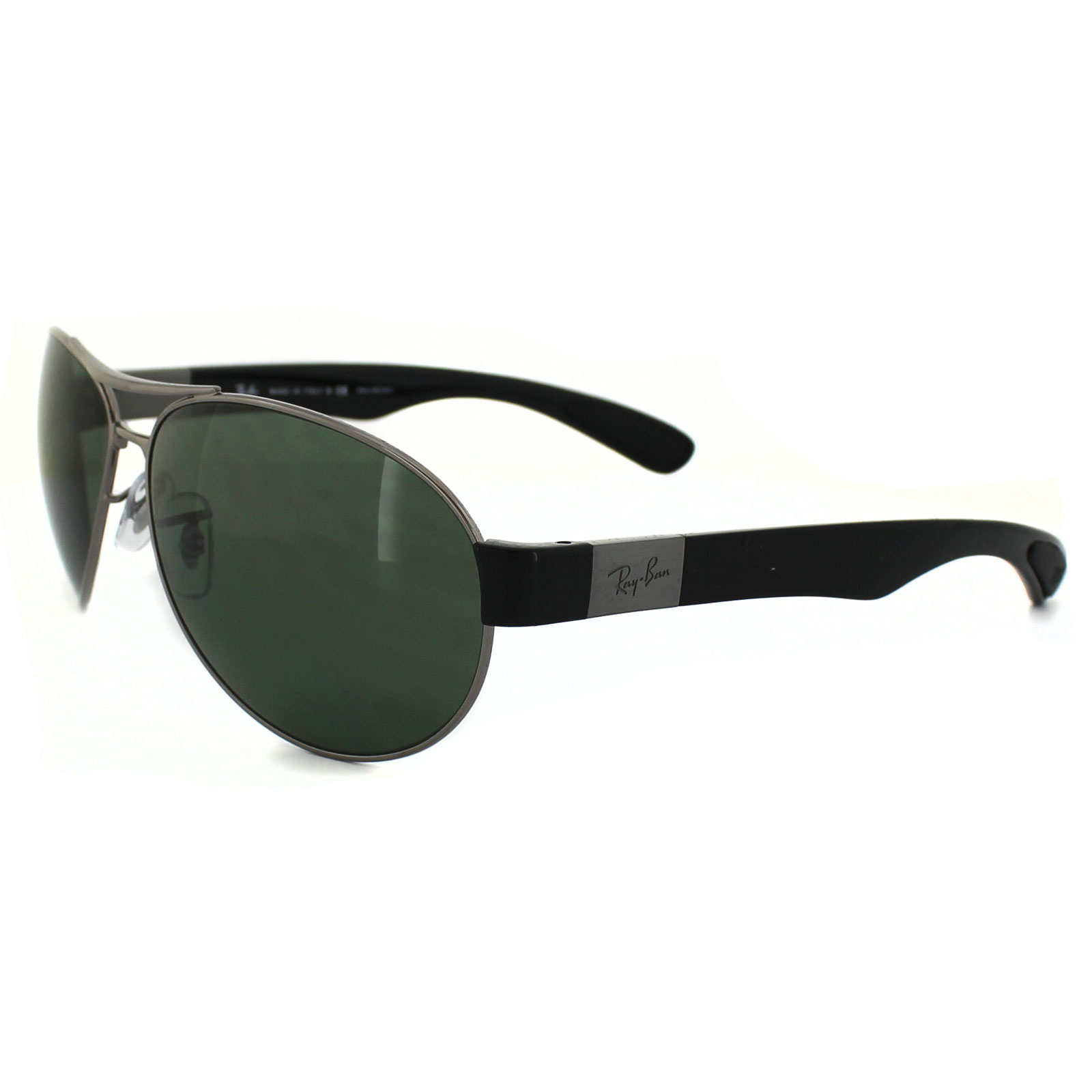 Ray Ban Sunglasses 3509 004 9a Gunmetal Green Polarized