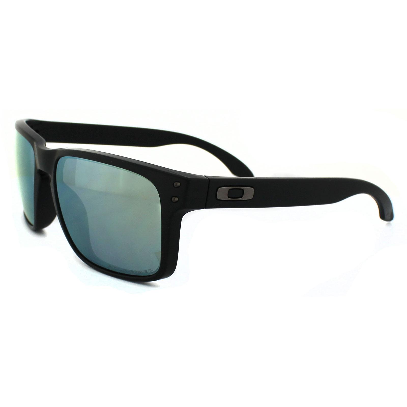 black friday oakley sunglasses 8z2e  Sentinel Oakley Sunglasses Holbrook OO9102-50 Matt Black Emerald Iridium  Polarized
