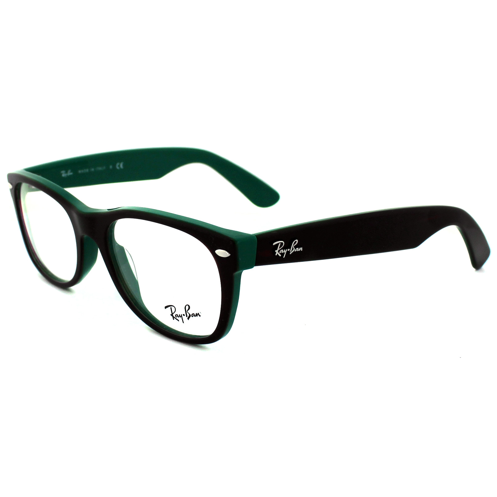 Ray Ban Glasses Large Frame : Ray-Ban Glasses Frames 5184 New Wayfarer 5161 Light Havana ...