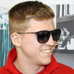 Ray-Ban Chris 4187 Sunglasses Thumbnail 3