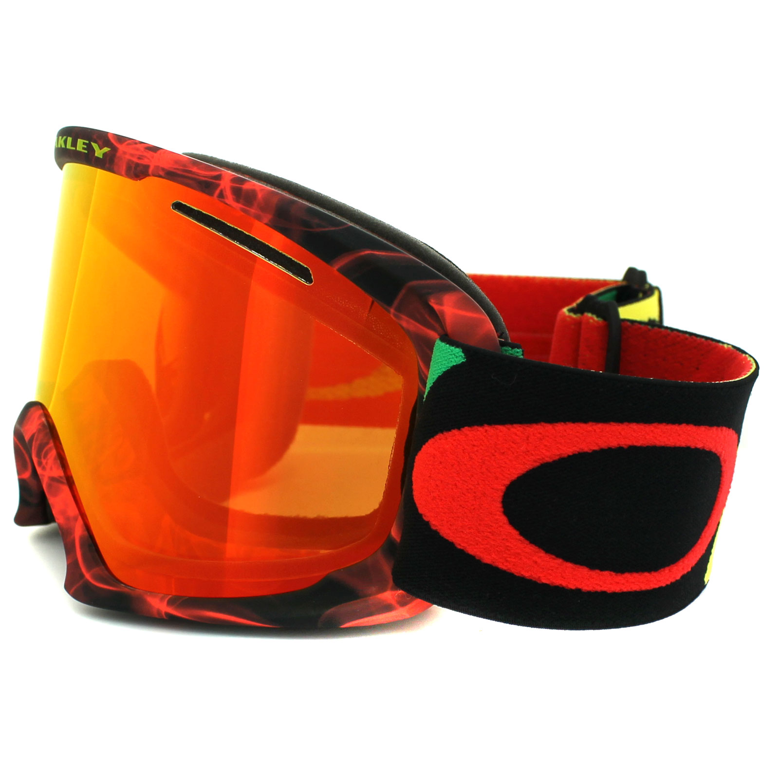 Red Oakley Goggles