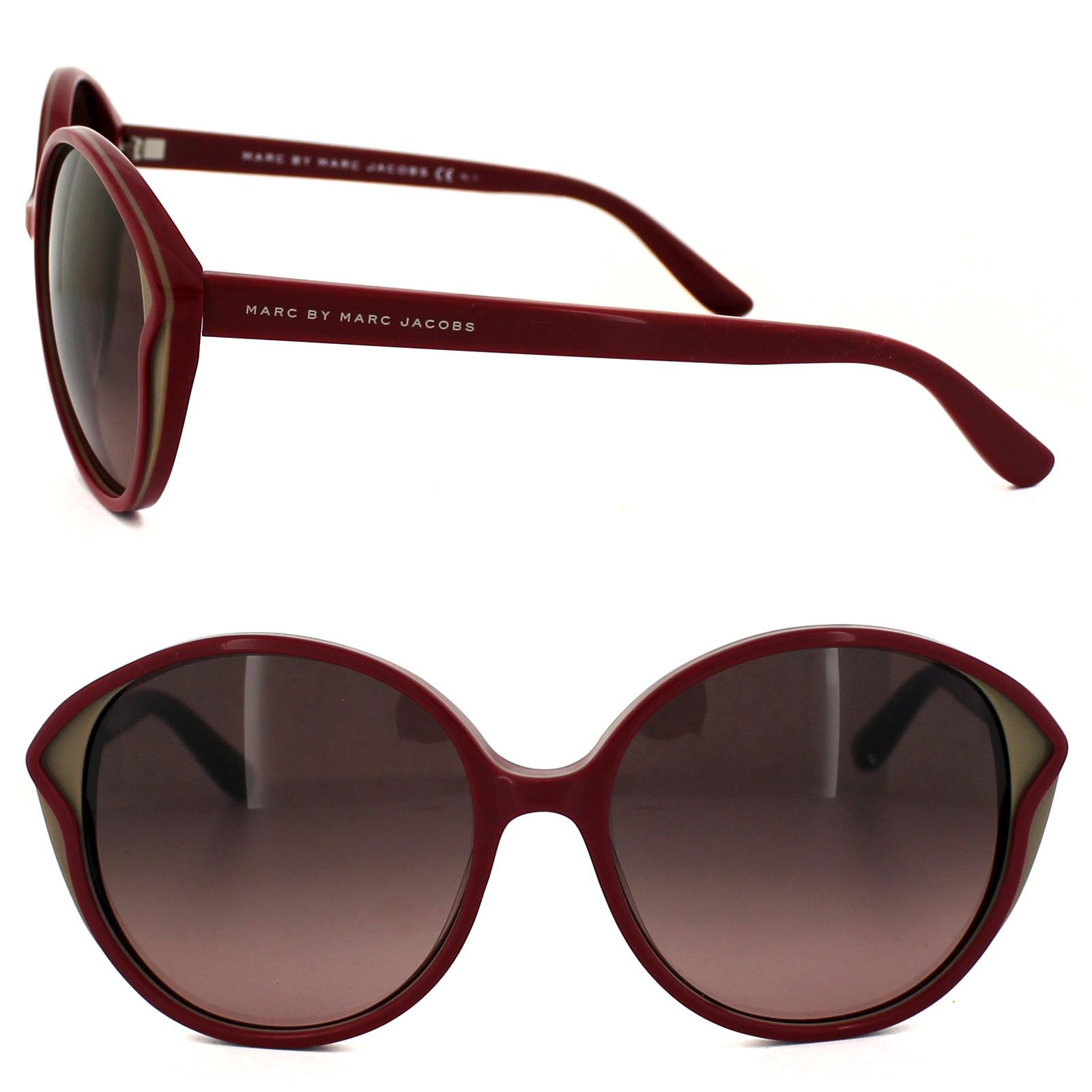 marc jacobs sonnenbrille 381 fke dz rosa cyclamen caramel mauve verlauf ebay. Black Bedroom Furniture Sets. Home Design Ideas
