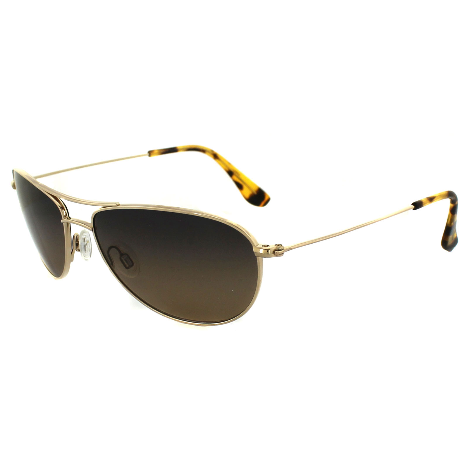 Maui Jim Beach Baby Sunglasses  maui jim sunglasses baby beach hs245 16 gold bronze polarized