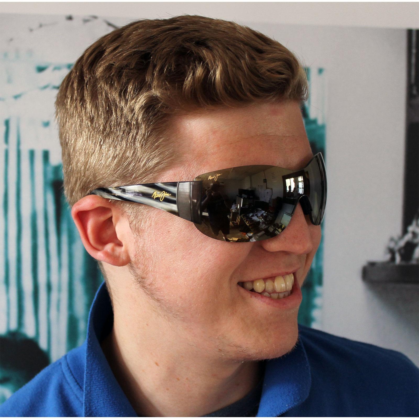 Maui Jim Sunglasses Ebay  maui jim sunglasses kula ht514 02 gunmetal ht green polarized ebay