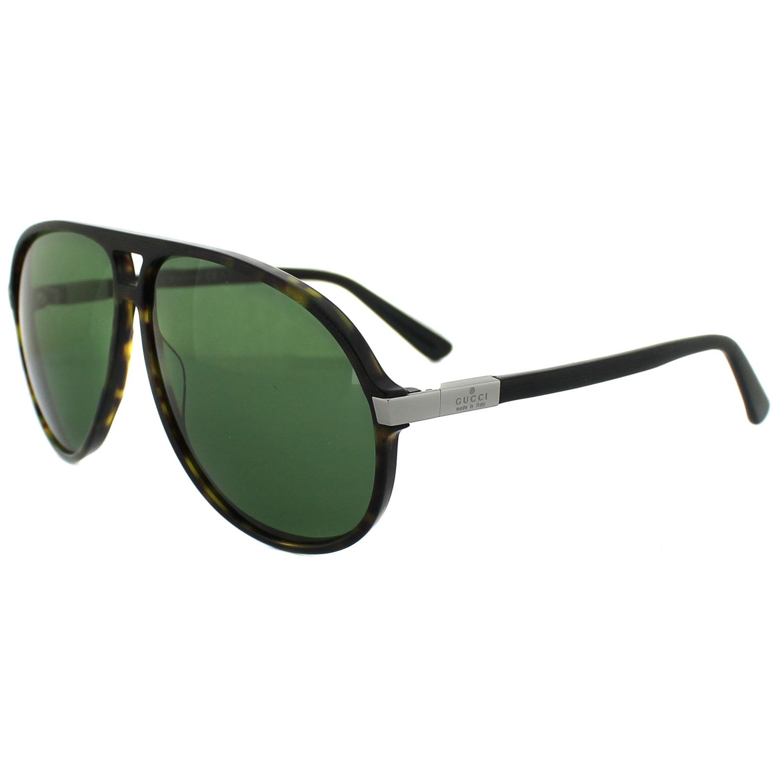 a52cb1c16d5 Gucci Aviator Sunglasses Deep Brown Green « Heritage Malta