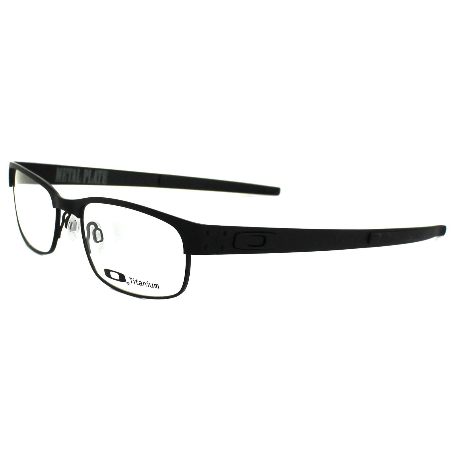 oakley glasses frames metal plate 22 198 matt black ebay