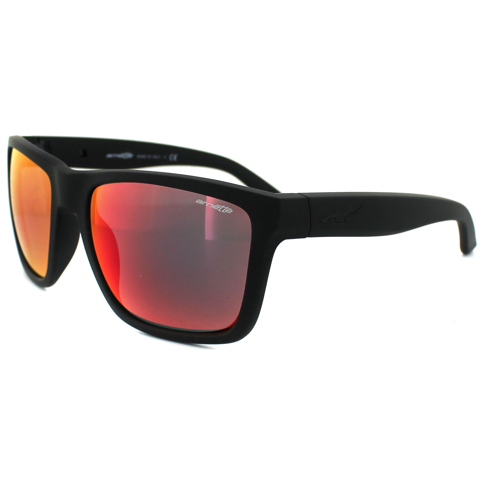 Arnette Sunglasses 4177 Witch Doctor 447/6Q Fuzzy Black ...