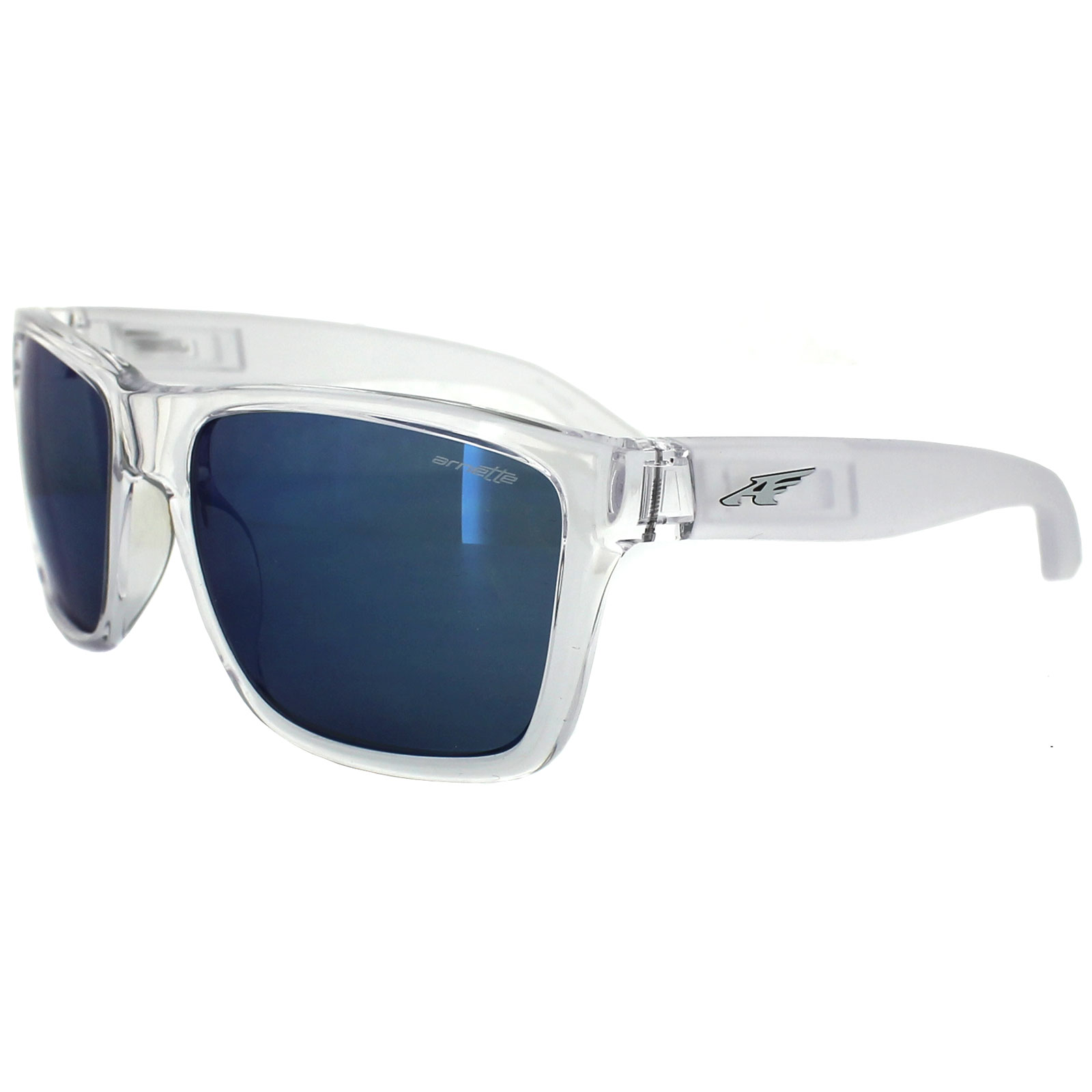 Arnette Sunglasses 4177 Witch Doctor 215855 Clear Blue ...