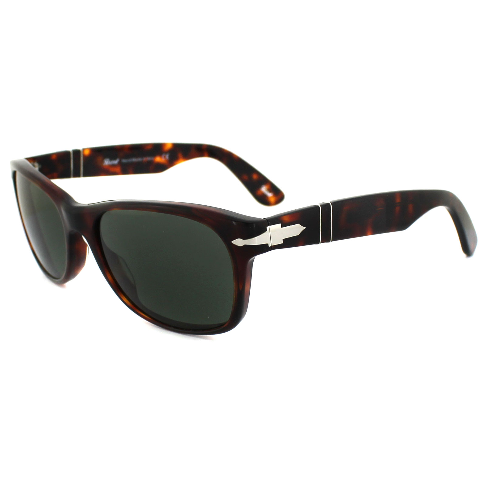 5b76b77ca44 Persol Sunglasses 2953 24 31 Havana Grey