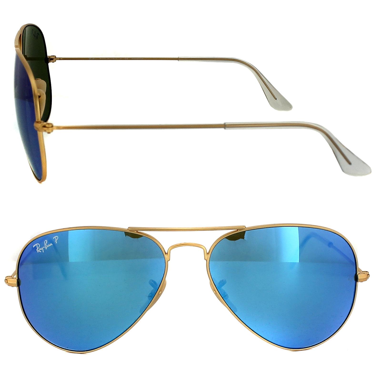 8095bd8b568c Blue Ray Ban Sunglasses Ebay