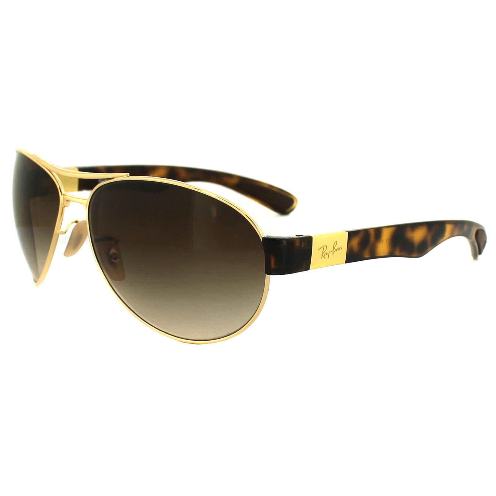 Ray ban gafas de sol 3509 001 13 dorado havana marron - Gafas de proteccion ...