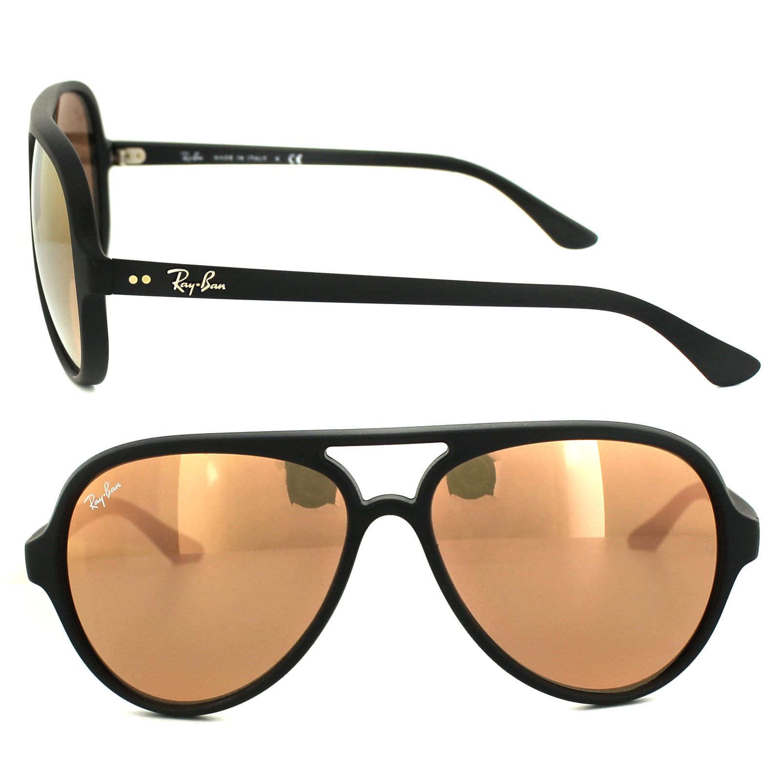 bb92e35c0c0 Ray Ban Cats 5000 Shiny Black « Heritage Malta