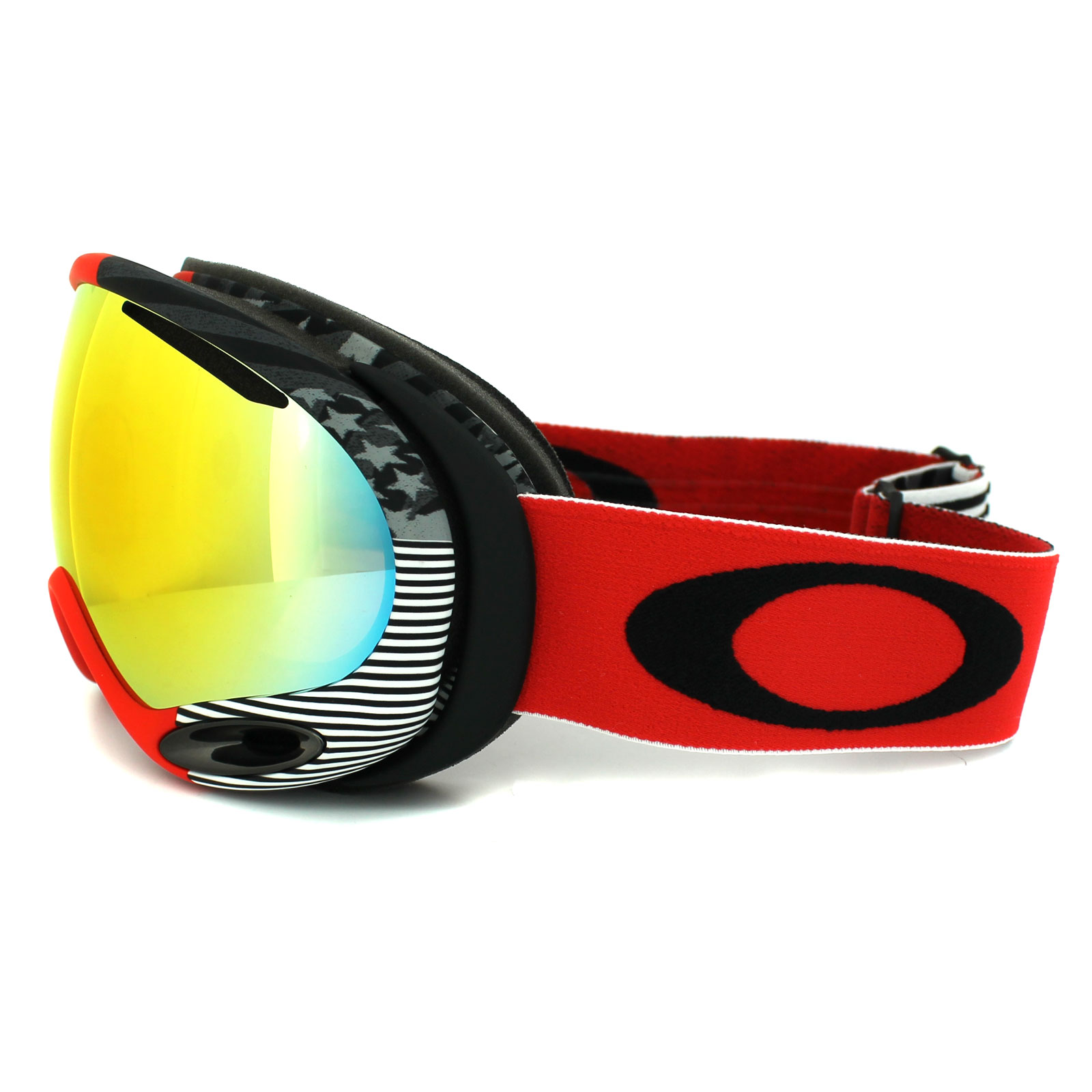 red oakley goggles  Oakley Ski Goggles A Frame 2.0 59-648 Shaun White Old Glory Red ...