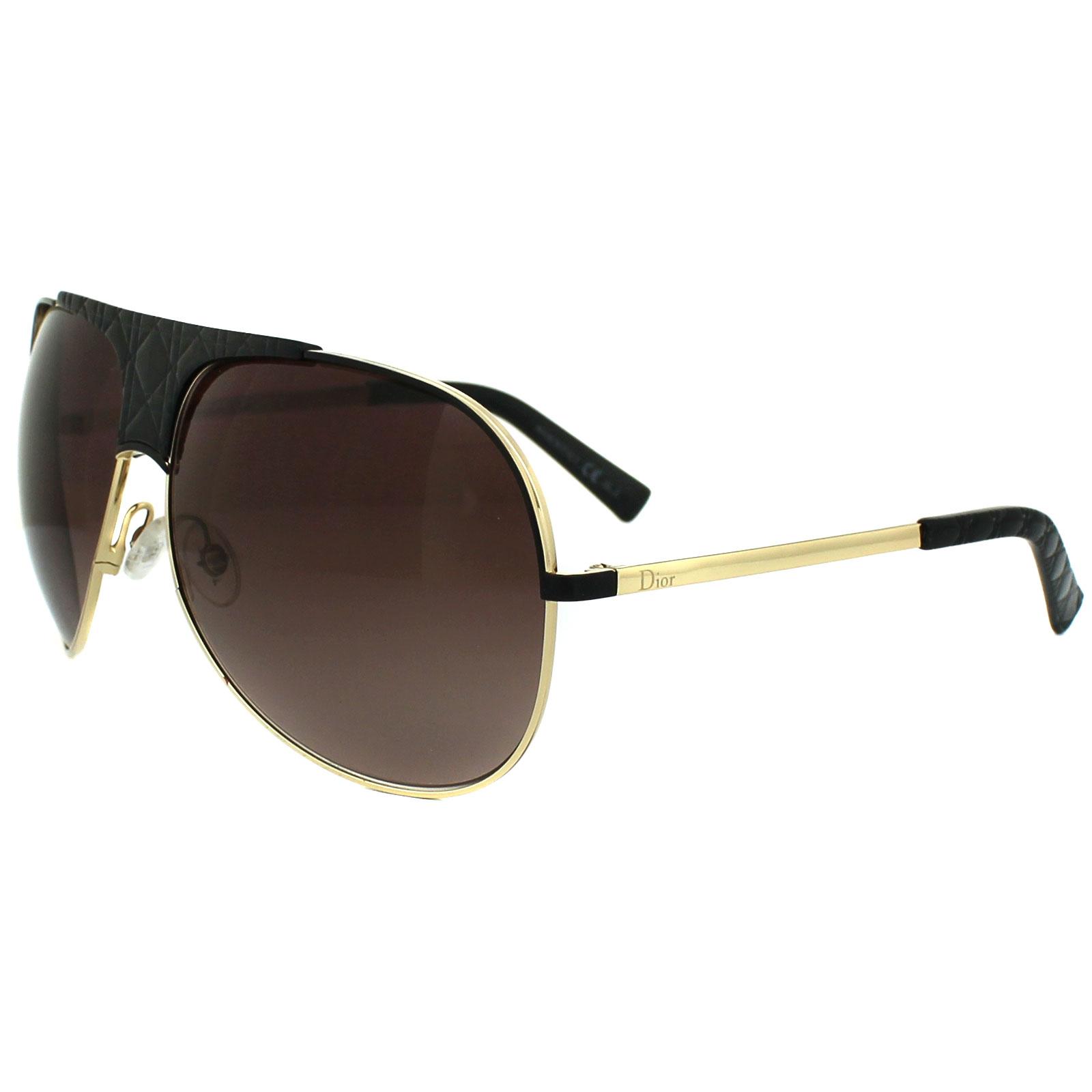 1ff78b9d2fe8 ... EYEGLASSES CD3681 BLACK MATTE DRK HORN ITALY NEW Dior Rimless  Sunglasses