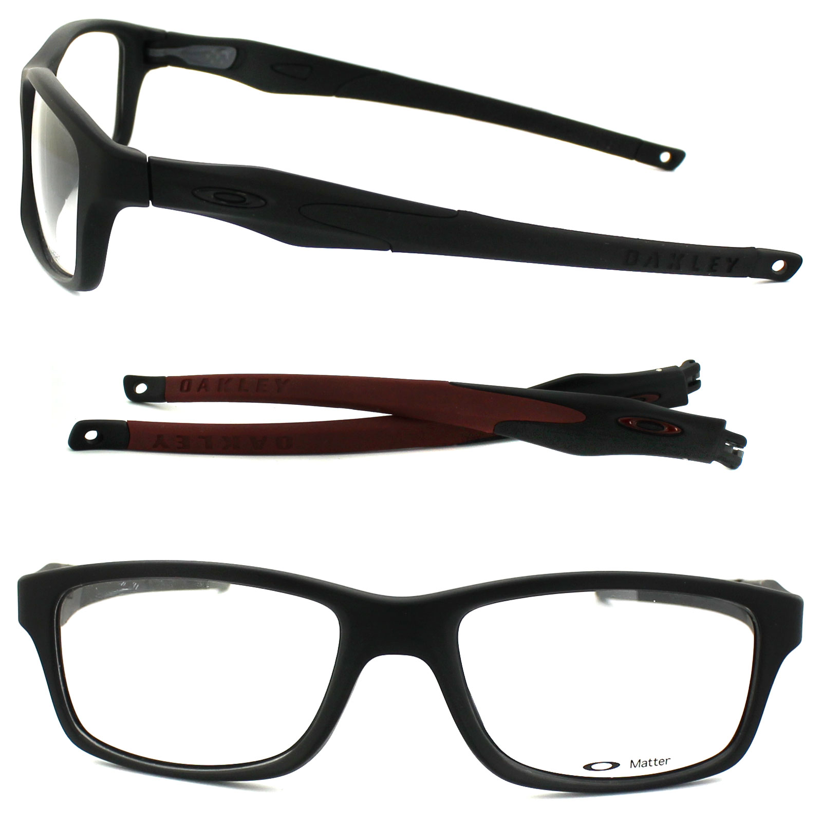 Glasses Frames Xl : Cheap Oakley Crosslink XL Glasses Frames - Discounted ...