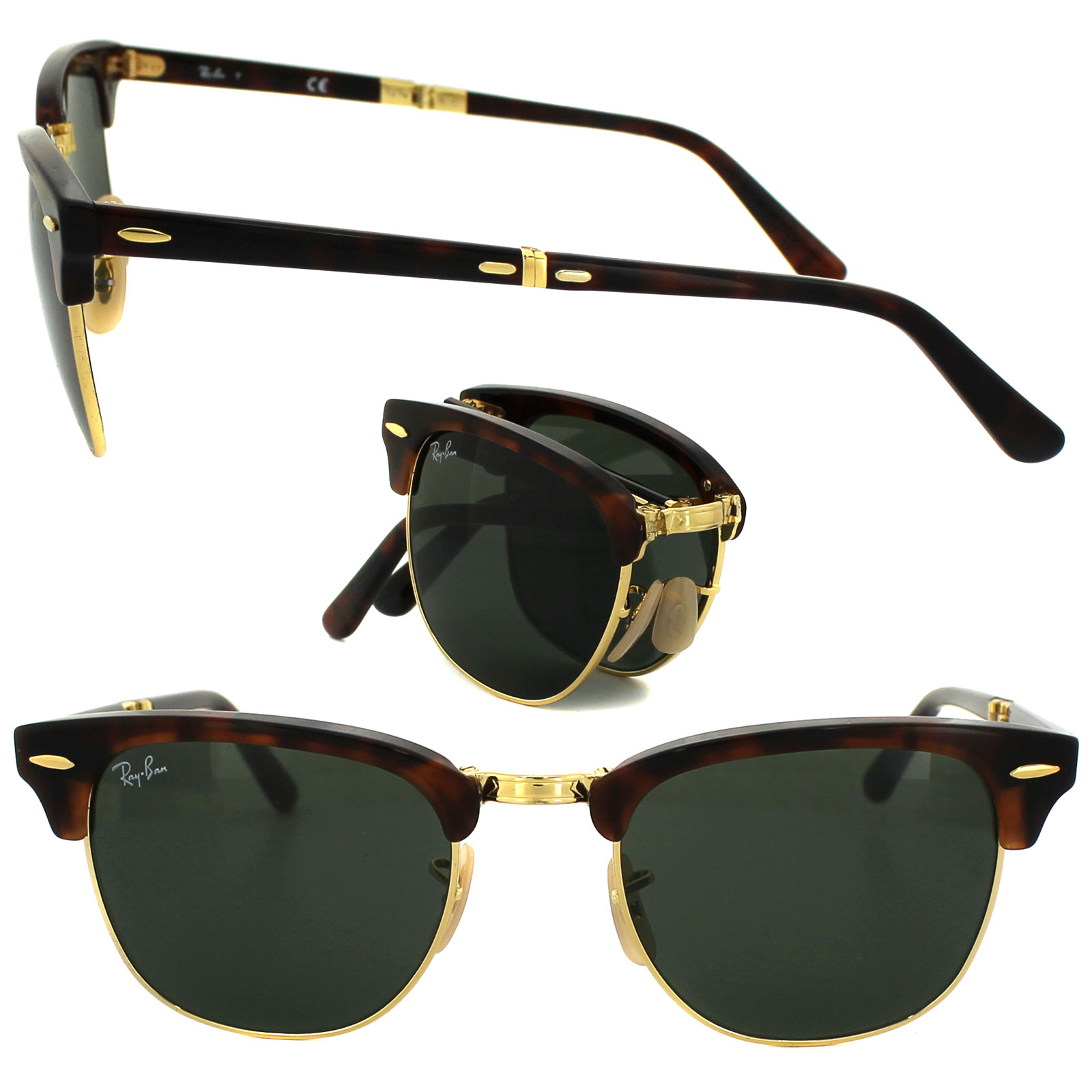 And Ebay Ray Ban Pub Clubmaster Folding Restaurant Holly's dWreBCxo