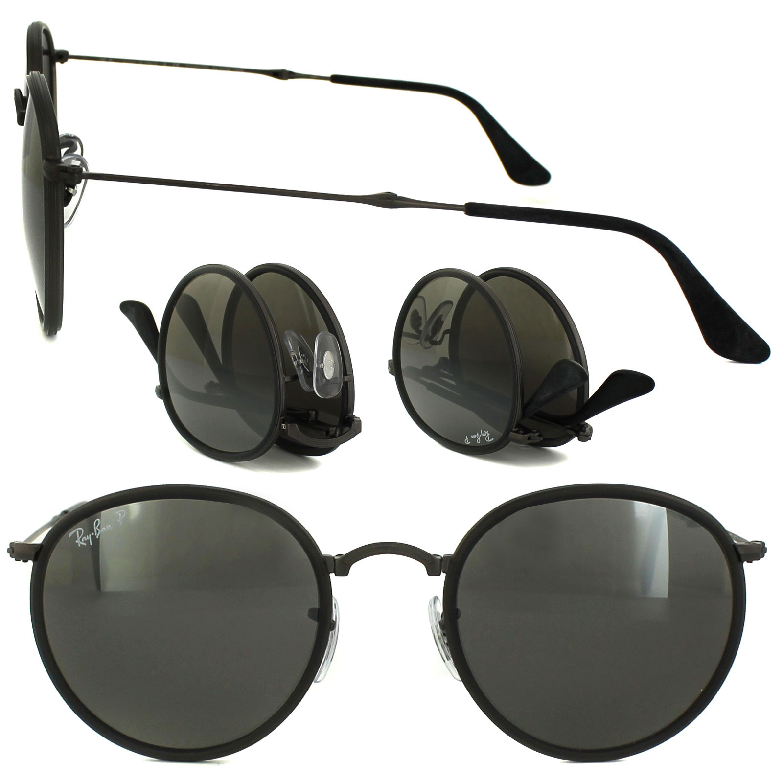 0fcdc9b7c25 LPD Welcome - Ray Ban Round Folding 3517