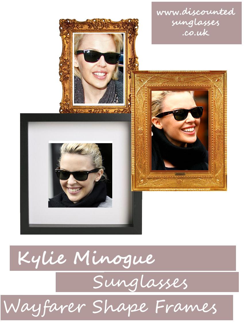 Queen of pop in Ray-Ban wayfarer sunglasses
