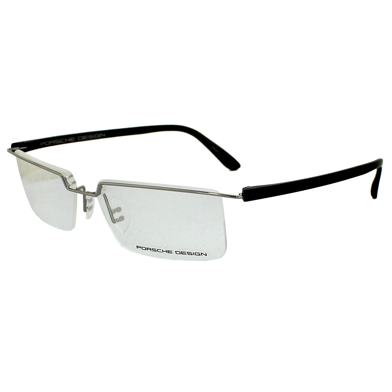 Porsche Design Glasses Frame : Porsche Design Glasses Frames P8227 D Silver & Black eBay