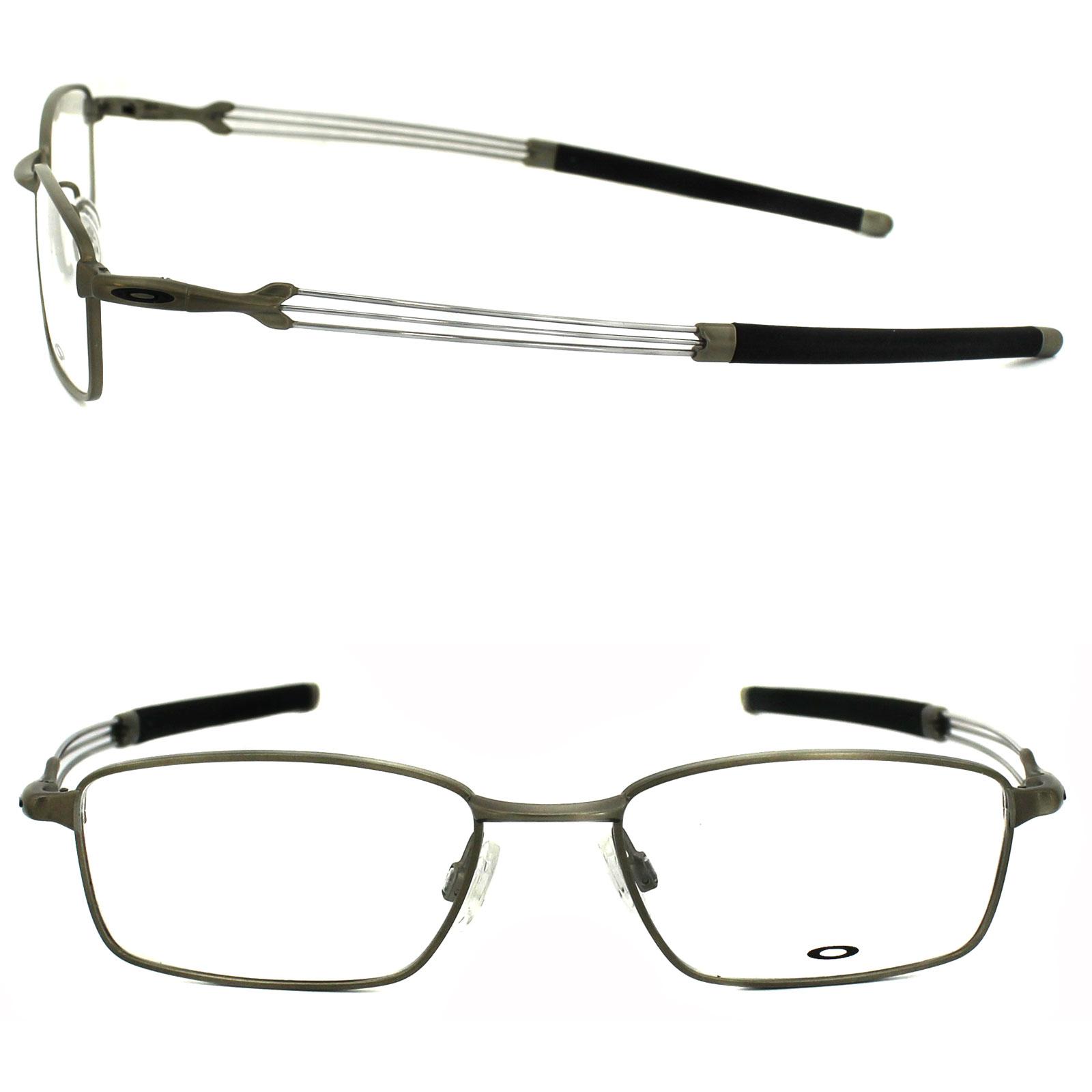 Oakley Clear Frame Glasses : Oakley Glasses Frames Catapult 5092-03 Light Silver Clear ...