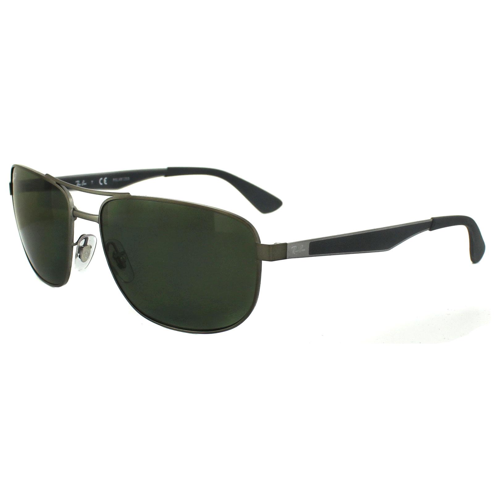 ray ban sunglasses 3528 029 9a matt gunmetal grey dark. Black Bedroom Furniture Sets. Home Design Ideas