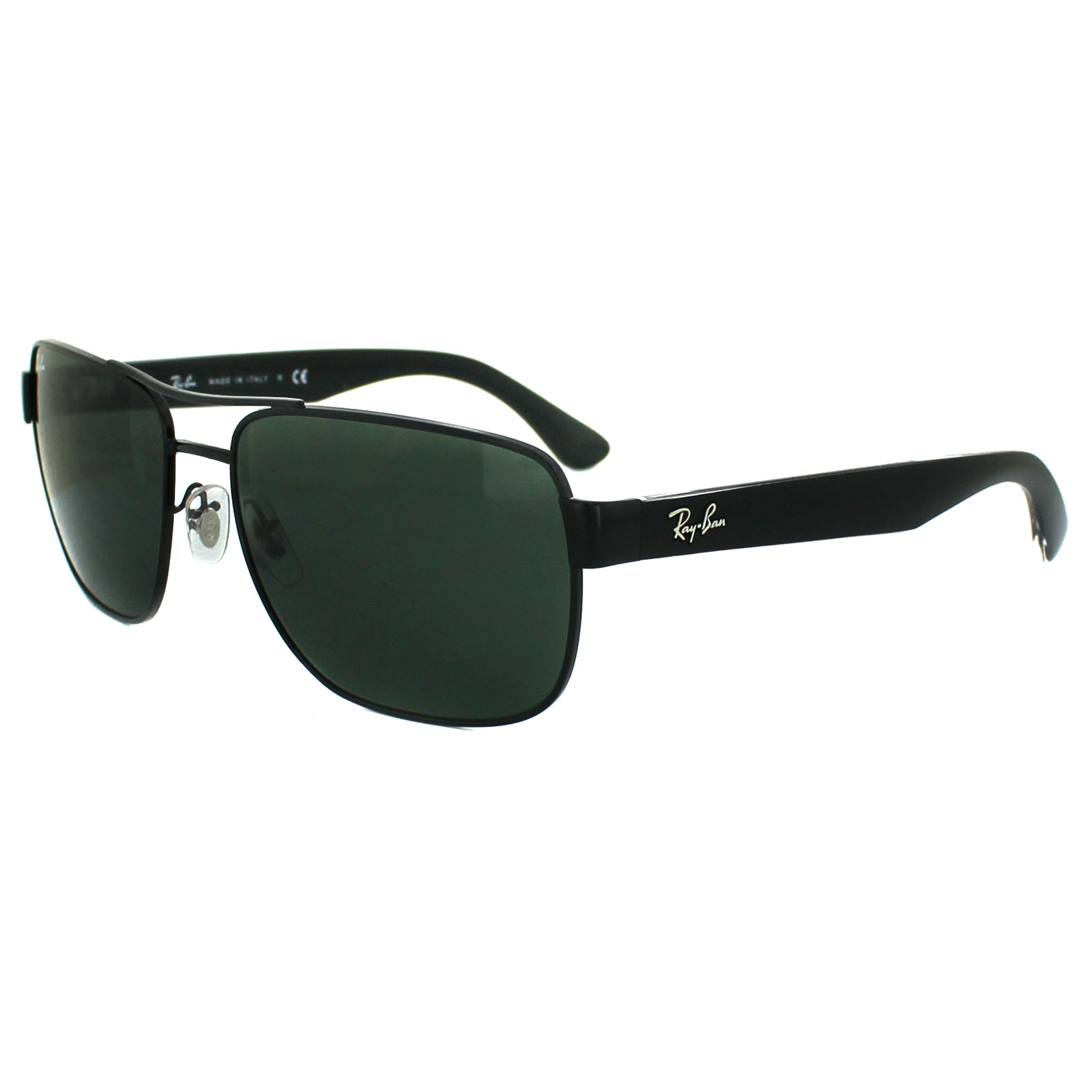 discount ray ban glasses  ray ban sunglasses 3530 002/71 black green
