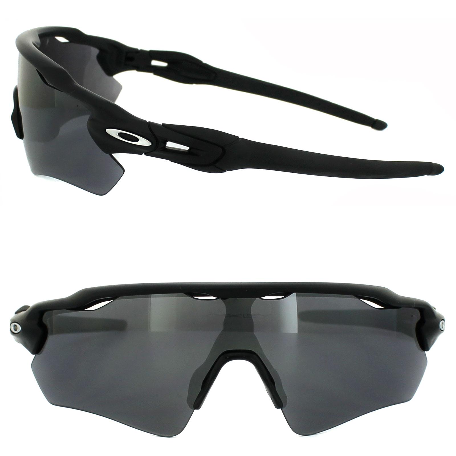 ab78797ace Oakley Sunglasses Radar EV Path OO9208-01 Matt Black Black Iridium