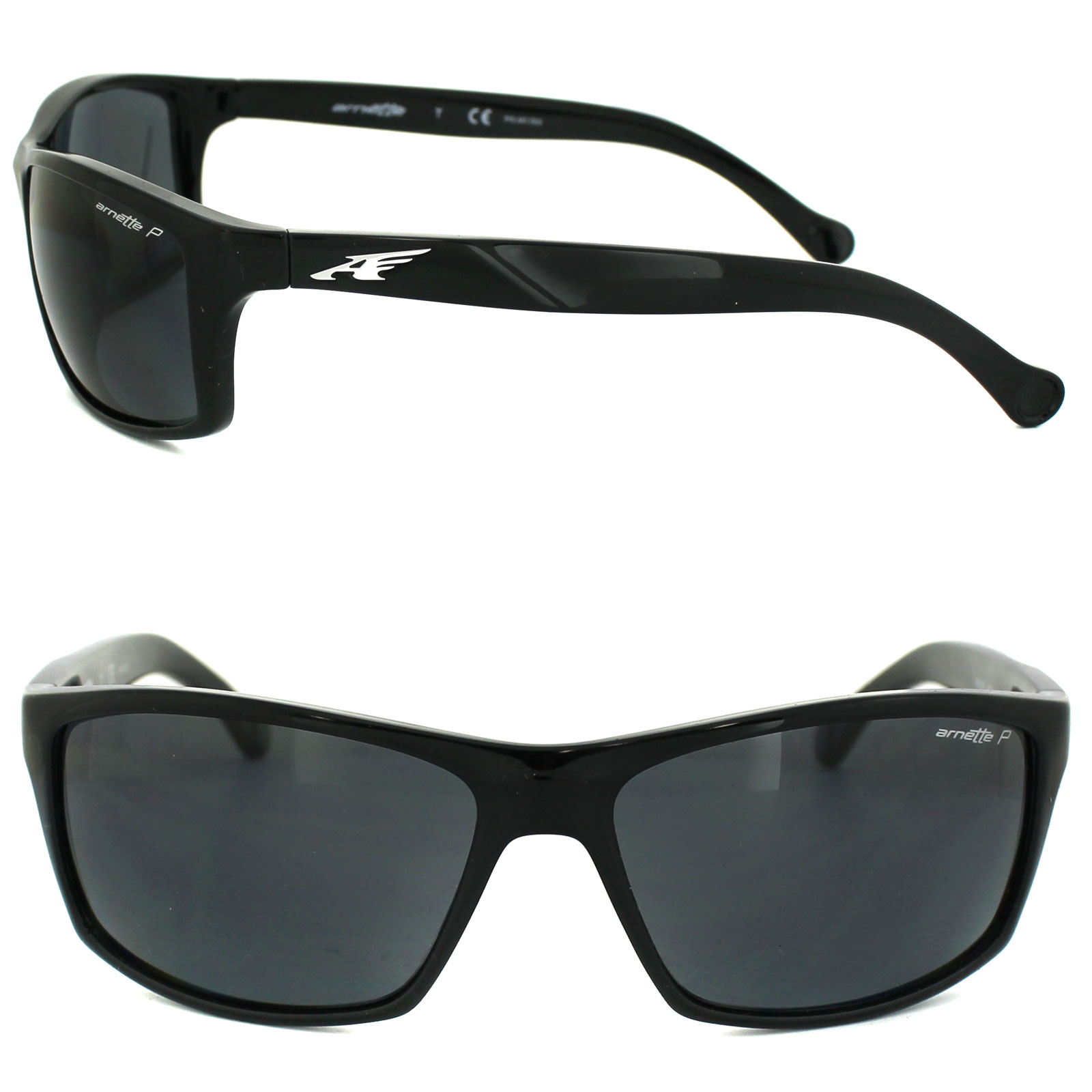 Arnette Sunglasses 4207 Boiler 41/81 Black Grey Polarized ...